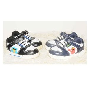 Other - Sesame Street COOKIE MONSTER + ELMO Baby Shoes SET